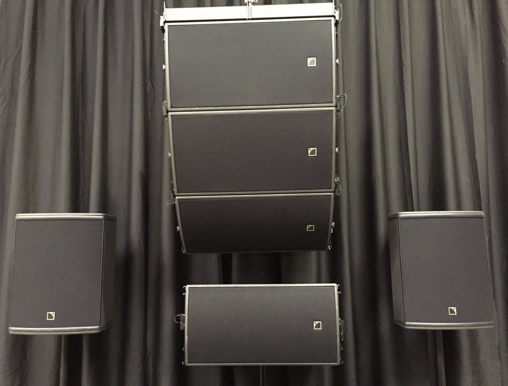 L-acoustics speakers