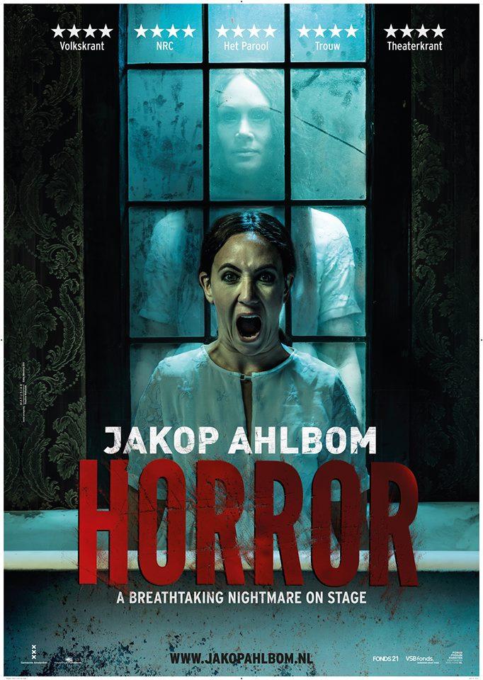 Het pamflet van theatervoorstelling HORROR!